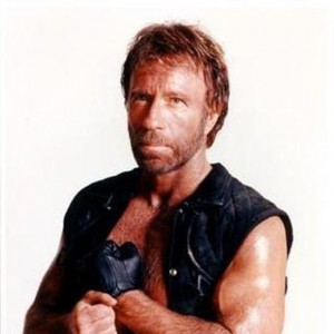 Chuck Norris som ikon